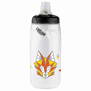 Бутылка CamelBak Podium 21 oz (0.62L), Geo Wolf, Youth LE